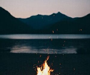 fire, water, and world image