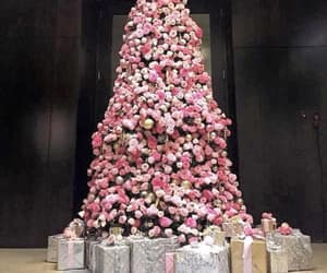 christmas, gift, and pink image