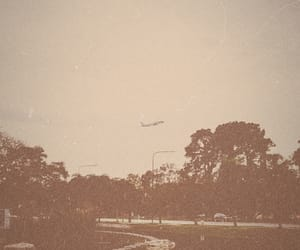 old, park, and plane image