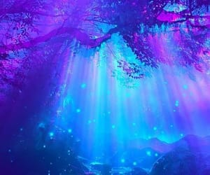 aesthetic, purple, and blue image