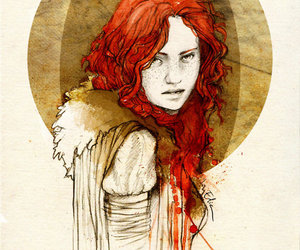 ygritte, art, and drawing image