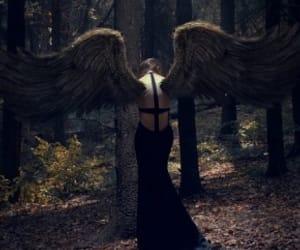 angel, creative, and fantasy image