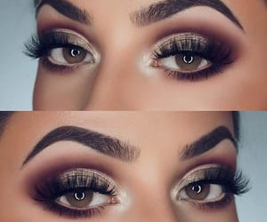 eyes, smokey, and makeup image