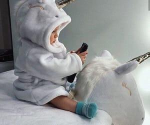 baby, unicorn, and cute image