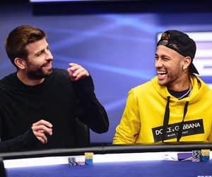 gerard piqué, neymar, and pique image