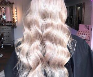 blonde, make up, and hair image