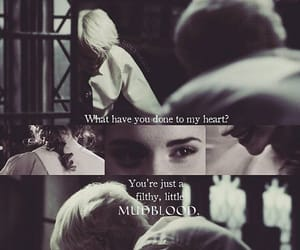 couple, draco malfoy, and emma watson image