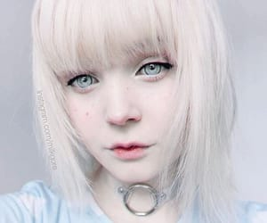 blue, cute, and girl image