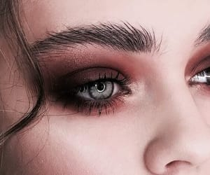 beautiful, girl, and make-up image