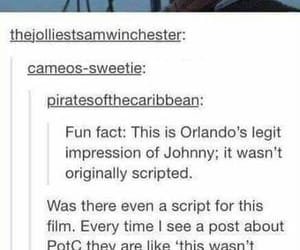 pirates of the caribbean, funny, and orlando bloom image