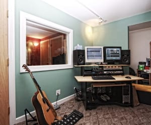 house, recording, and instruments image