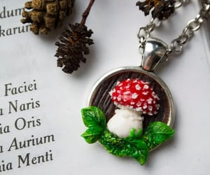 etsy, mushroom, and red image