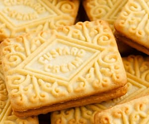 biscuit, biscuits, and britain image