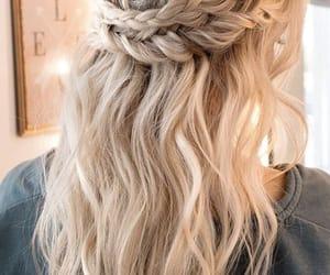 braid, hairstyle, and twist braid image