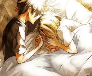 anime, anime couple, and haikyuu image