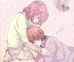 anime, cute, and couple anime image