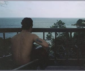 boy, ocean, and shawn mendes image