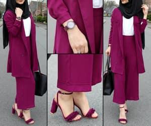 casual, costume, and hijab image