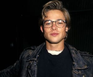 brad pitt, boy, and Hot image