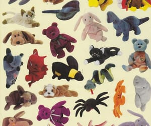 childhood, ty, and beanie babies image