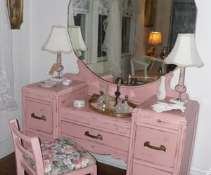 dollhouse, pink, and vintage image