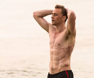 actor, sexy, and beach image