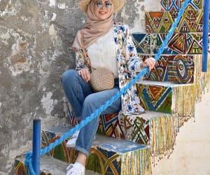 kimono style hijab image
