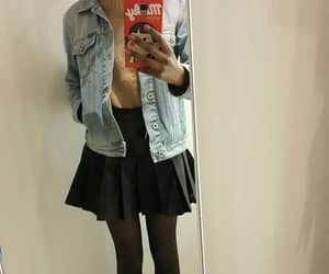jumper, skirt, and sweater image