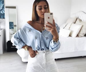 beauty, inspiration, and outfit image