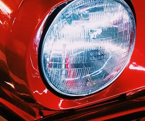 car, light, and red image