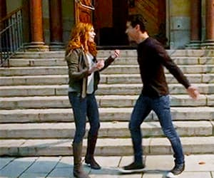gif, clary fairchild, and the mortal instruments image