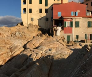 autunno, house, and sea image