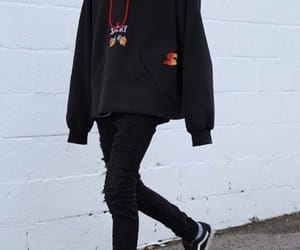 fashion, hoodie, and vans image