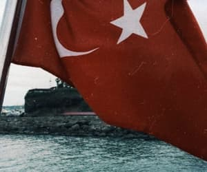 turkiye, wallpaper, and bayrak image