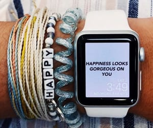 apple, bracelet, and happy image