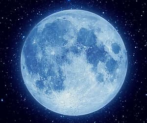 blue, moon, and quotes image