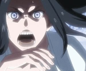 anime, attack on titan, and gif image