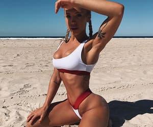 beach, beauty, and loira image