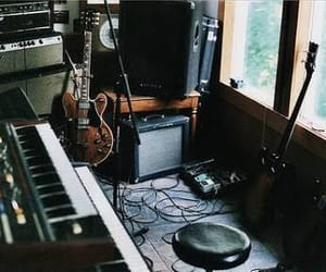 boombox, guitar, and songs image