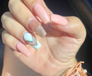 baby, nails, and cute nails image