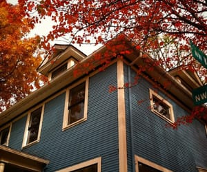 autumn, home, and house image