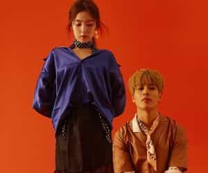 aesthetic, orange, and SHINee image
