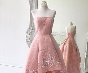 pink prom dresses and lace homecoming dresses image