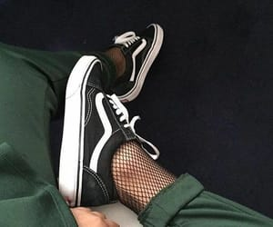 shoe, shoes, and vans image