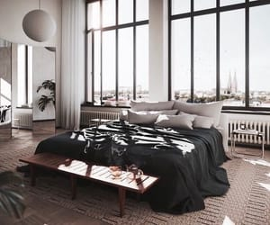 aesthetic, bed, and city image