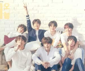 bts, ot7, and family image