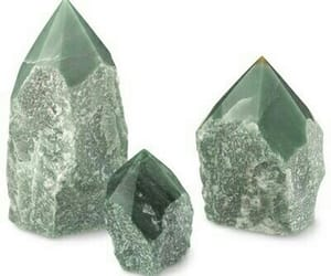 aesthetic, crystal, and green image