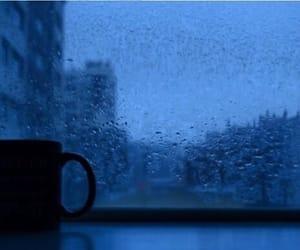 coffee, grunge, and rain image