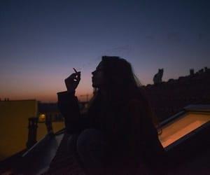 grunge, smoking, and tumblr image
