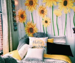 yellow and sunflower image